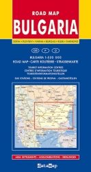 Road Map of Bulgaria 1:530 000