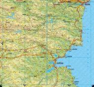 Пътен атлас на България 1:530 000