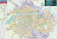 Карта на Пловдив 1:10 000