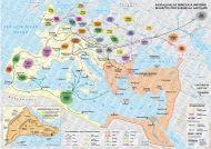 Разпадане на Римската империя. Великото преселение на народите; врезка: Константинопол, IV-V в.