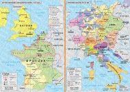 Англия и Франция. Стогодишната война, 1337-1453 г.; Германия и Италия, XIV-XV век