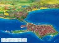 Nesebar-Tourist map  1:10 000
