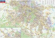 Карта на София и региона 1:20 000