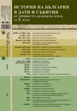 History of Bulgaria from antiquity to end of XVII century for 5. class